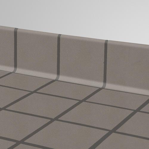 Ceramic cove base tile