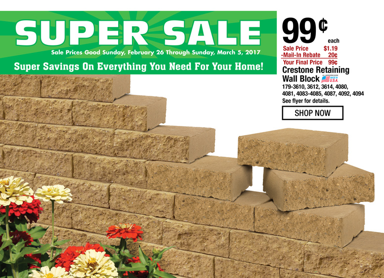 BIG Savings On Everything You Need For Your Home
