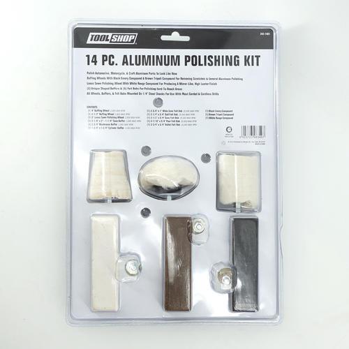 Tool Shop® Aluminum Polishing Kit - 14 Piece at Menards®
