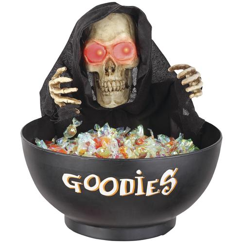 Animated Candy Bowl With Skull At Menards