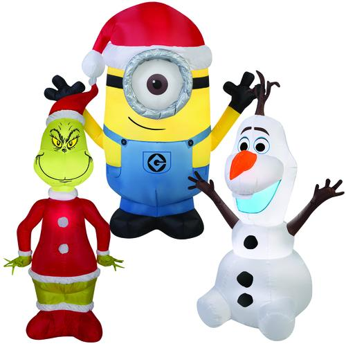 airblown 3 5 licensed inflatable assorted styles at menards rh menards com