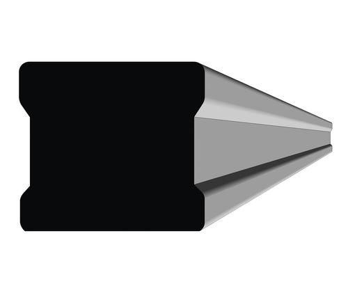 2 1/8 H x 2 3/8 W x 10' Rustic Hard Maple Handrail Prefinished English Chestnut