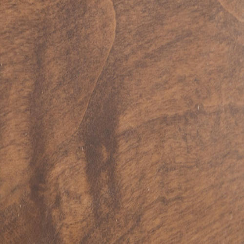 "3/4 x 2 x 7' 6"" Knotty Alder Chair Rail Moulding Prefinished English Chestnut"
