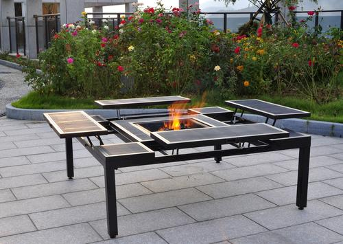 Captivating Adjustable Fire Pit Table At Menards®