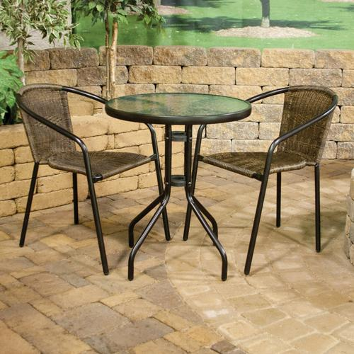 3 Piece Wicker Bistro Collection At Menards®