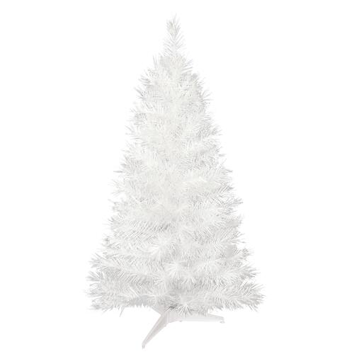 enchanted forest 36 white snow ridge fir artificial christmas tree at menards