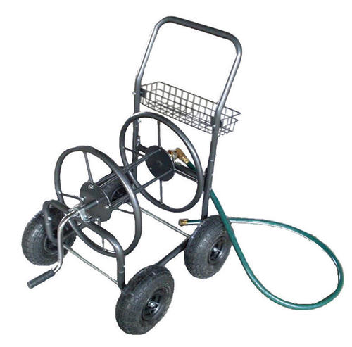 Yardworks 250 ft 4 Wheel Hose Reel Cart at Menards