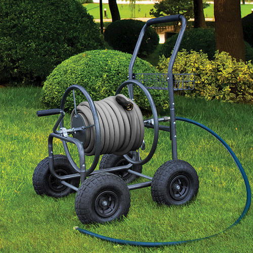 Portable hose reels on wheels home design ideas and pictures for Gardening tools menards