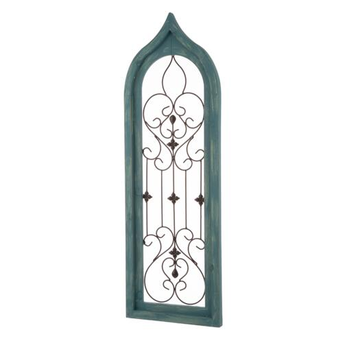 decorative kitchen decor.htm enchanted garden    wood and metal window wall decoration assorted  metal window wall decoration