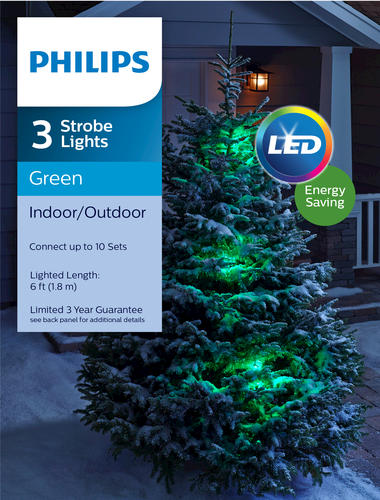 Philips 3 Pack Led Strobe Lights Orted Colors