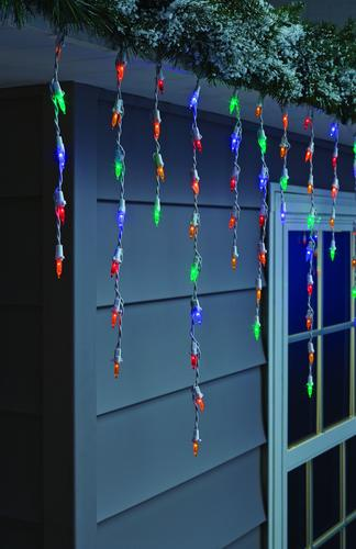 Christmas Icicle Light Set At Menards