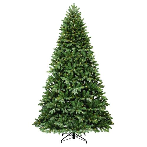 Menards Christmas Trees.Enchanted Forest 9 Prelit Lightly Flocked Whitman Spruce