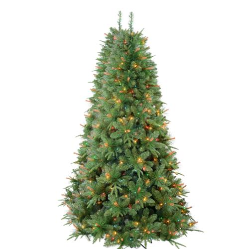 Enchanted Forest 7 5 Prelit Medley Pine Artificial Christmas Tree