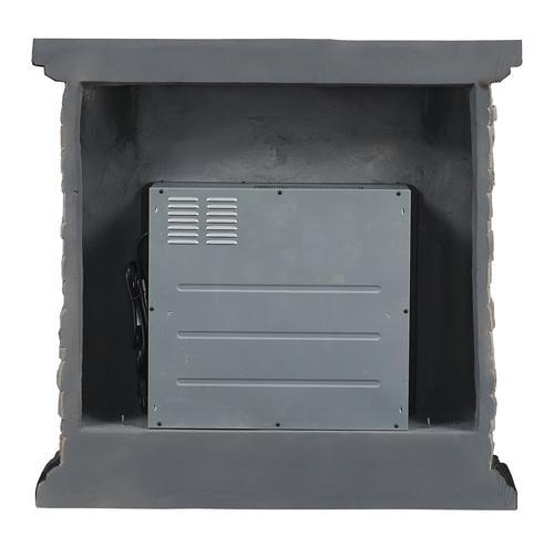 Chimneyfree 40 Yukon Mantel Electric Fireplace At Menards