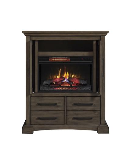 Chimneyfree 40 Quot Fairborn Mantel Electric Fireplace In