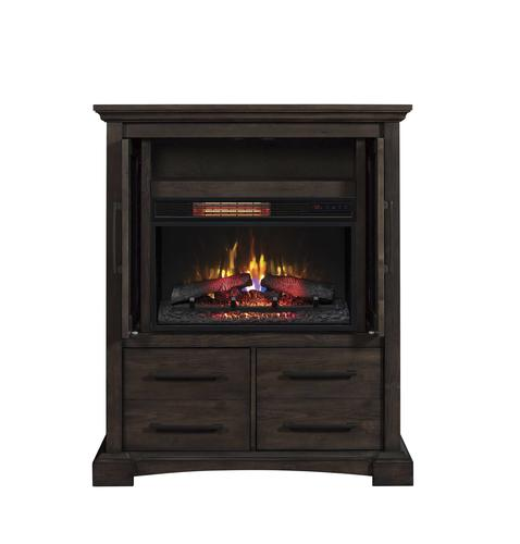 Chimneyfree 40 Quot Fairborn Electric Fireplace Entertainment