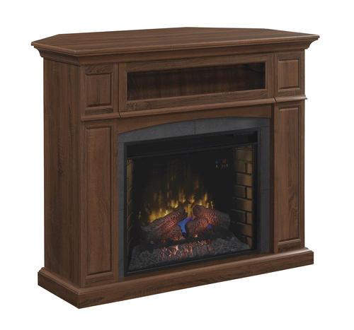 50 Abilene Electric Fireplace in Embossed Oak at Menards
