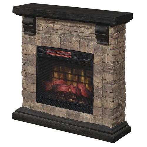Chimneyfree Yukon 40 Glen Springs Stone Electric Fireplace Entertainment Center At Menards
