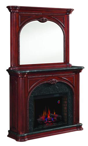 Barnesville Electric Fireplace W Mirror At MenardsR