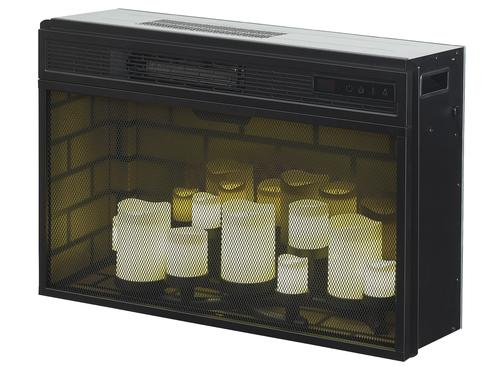 Chimneyfree 26 Led Flameless Candle Electric Fireplace With Safer Plug Insert Only At Menards