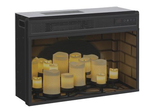 "Candle Fireplace Insert chimneyfree™ 26"" led electric flameless candle fireplace insert"