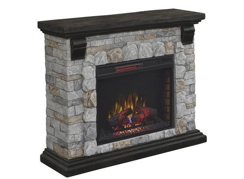 ChimneyFree 50 Denali Wall Fireplace in Castle Rock Flagstone at