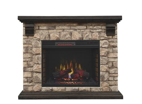 Superb Chimneyfree 50 Denali Mantel Electric Fireplace In Glen Home Interior And Landscaping Synyenasavecom