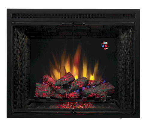 """Electric Fireplace Insert Menards: ChimneyFree™ 39"""" Traditional Built-in Electric Fireplace"""
