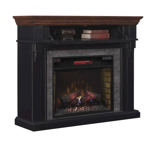 Chimneyfree 50 Mayville Mantel Electric Fireplace In Cottage