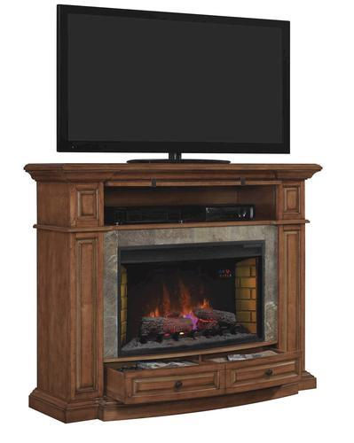 Chimneyfree 58 Owensboro Mantel Electric Fireplace In Burnished