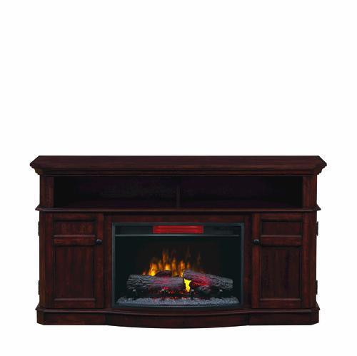 "Electric Fireplace Insert Menards: ChimneyFree 60"" Westville Electric Fireplace Entertainment"