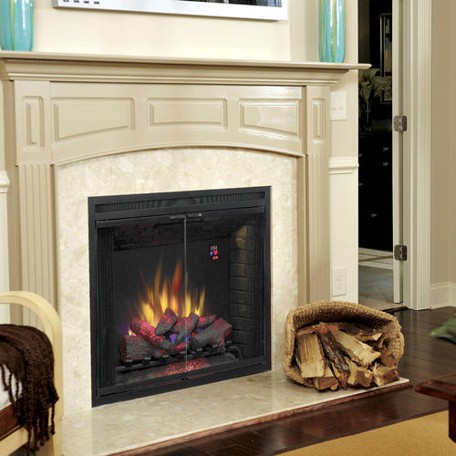Chimneyfree 39 Traditional Built In Electric Fireplace Insert