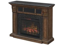 Chimneyfree 57 Quot Emerado Mantel Electric Fireplace In Old