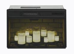 Chimneyfree 26 Quot Led Flameless Candle Electric Fireplace