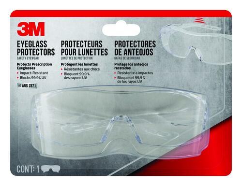 3m Clear Over The Glasses Safety Glasses At Menards