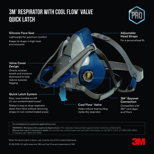 3m cool flow dust mask