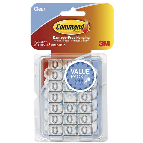 3M Command™ Clear Decorating Clip at Menards®