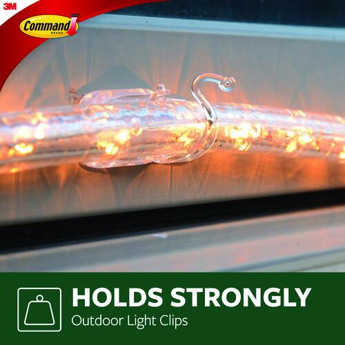 3m Command Outdoor Rope Light Clips