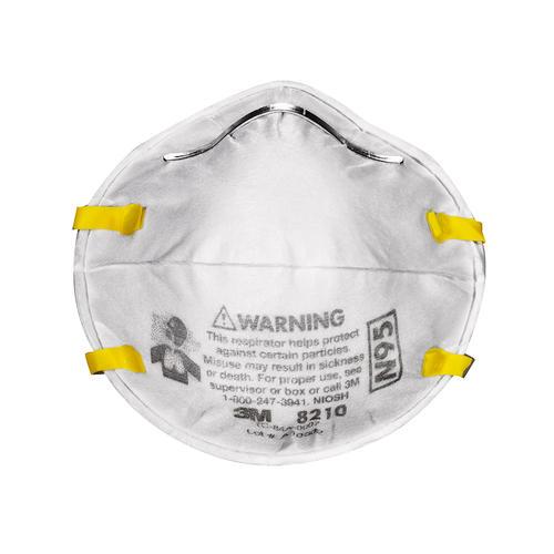 3M™ TEKK Protection™ Paint Sanding Respirator Masks - 20-pk