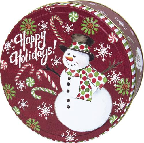 tin home decor.htm 7  round holiday cookie tin assorted styles at menards    7  round holiday cookie tin assorted
