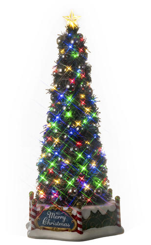 Lemax Christmas.Lemax Majestic Christmas Tree Prelit Village Accessory At