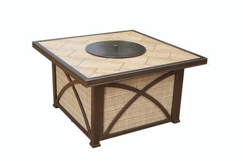 Backyard Creations Verona 42 X 42 Fire Chat Patio Table At Menards