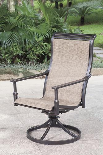 Cool Backyard Creations Sierra Swivel Rocker Dining Patio Chair Download Free Architecture Designs Intelgarnamadebymaigaardcom