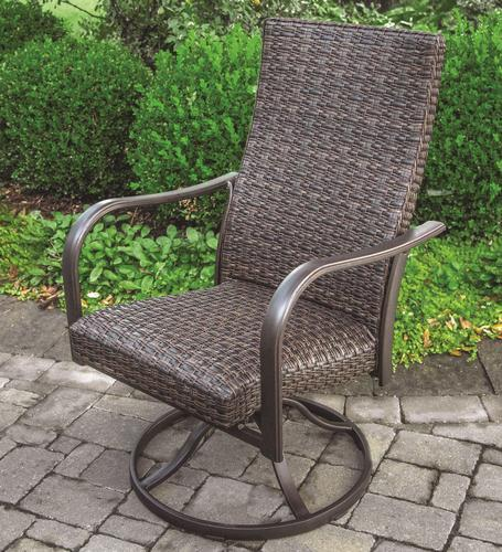 Sterling Home U0026 Patio® Woodland Swivel Rocker Dining Patio Chair At Menards®