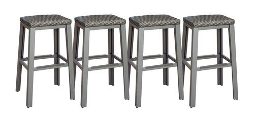 Admirable Backyard Creations Galloway Patio Bar Stool 4 Pack At Spiritservingveterans Wood Chair Design Ideas Spiritservingveteransorg