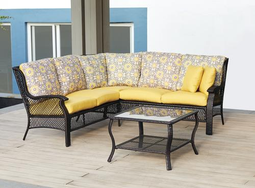 Backyard Creations® Allenwood Collection Sectional Seating ...