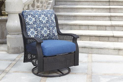 Backyard Creations® Allenwood Deep Seating Swivel Glider ...