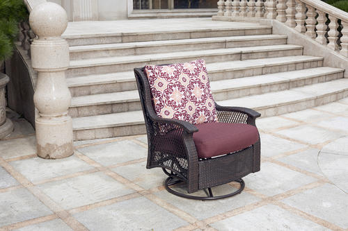 Strange Backyard Creations Allenwood Deep Seating Swivel Glider Unemploymentrelief Wooden Chair Designs For Living Room Unemploymentrelieforg