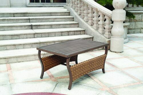 Backyard Creations Rozier Patio Coffee Table At Menards