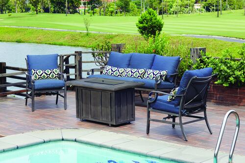 Riverside Collection 4 Piece Fire Pit